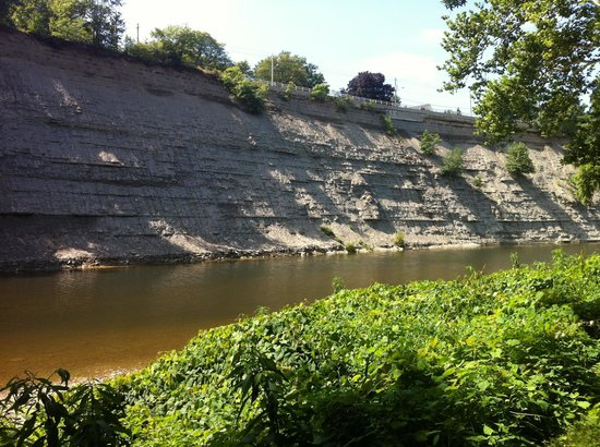 Rocky River Reservation: View of the Rocky River near Scenic Park