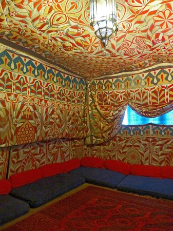Moroccan style room in doddington hall picture of for Moroccan wallpaper uk