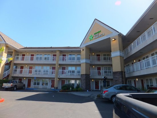 Extended Stay America - Sacramento - Arden Way: Frontage of the hotel