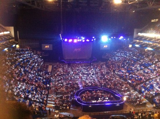 Inside the arena picture of the o2 london tripadvisor for Hotels 02 arena london