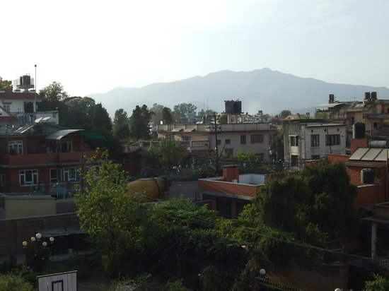 At Home Nepal Guest House: View from the bedroom window