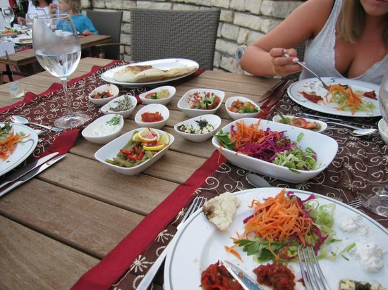 Restaurant a taste of turkey foto van otium hotel for A taste of turkish cuisine