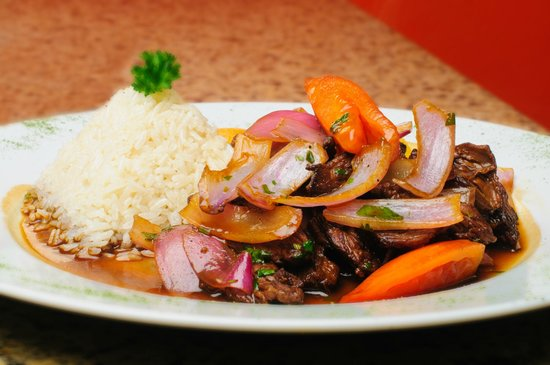 Lomo saltado beef sauteed picture of inkanto for Authentic peruvian cuisine