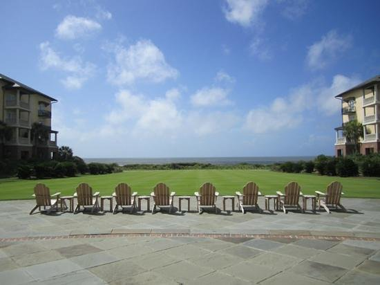 The Courtyard The Sanctuary Picture Of Kiawah Island Coastal South Caro