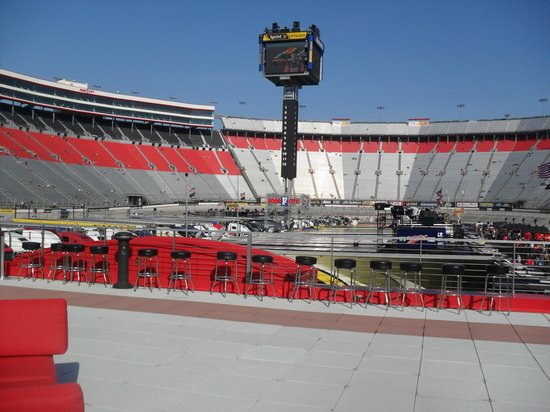 Ole Smokey Rooftop Picture Of Bristol Motor Speedway