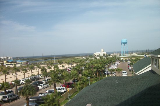Hilton Garden Inn South Padre Island: View from front of building on 3rd floor