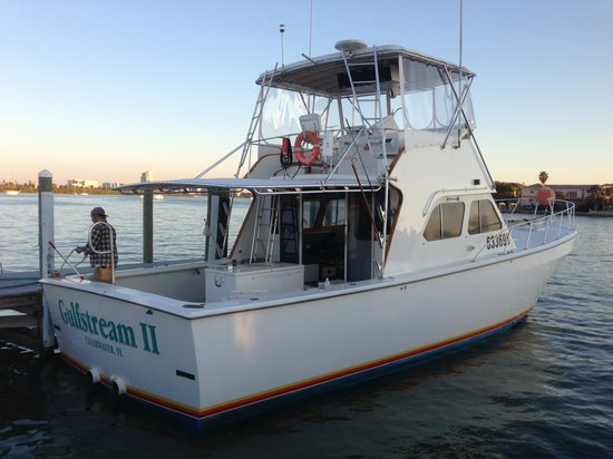 Things to do near holiday inn hotel suites clearwater for Deep sea fishing charters near me