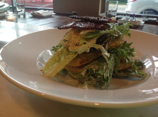 Norwalk, CT: BLT Salad with fried green tomatoes, buttermilk dressing ...