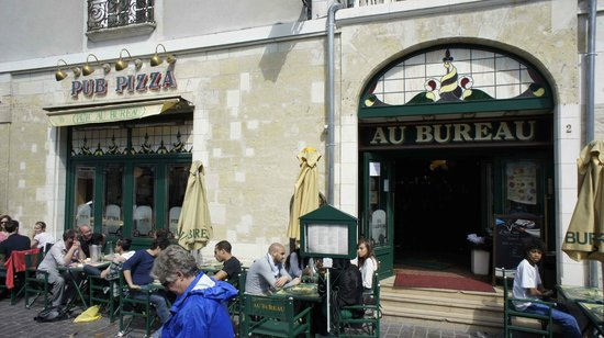 great restaurant photo de au bureau tours tripadvisor