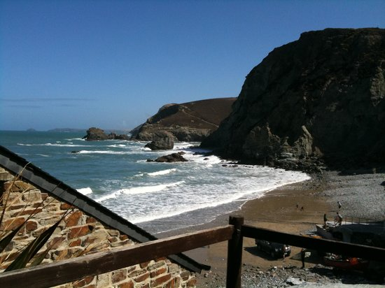 St Agnes, UK: The cove clost to the hotel