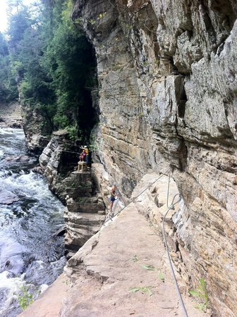 Ausable Chasm Campground