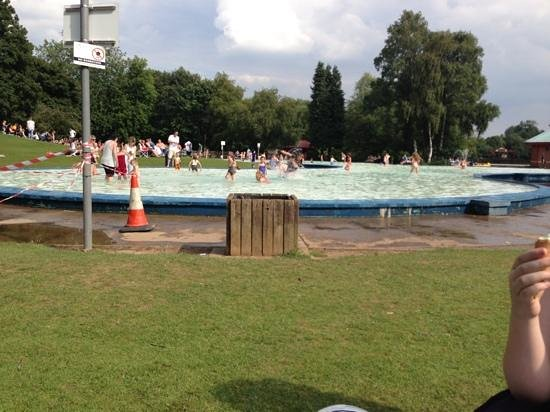 The Paddling Pool Picture Of Markeaton Park Derby