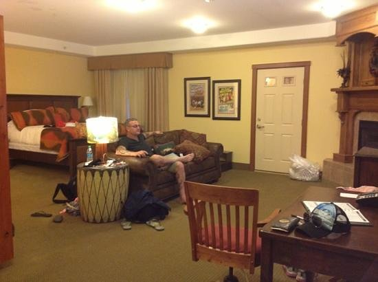 The Cody Hotel: our room