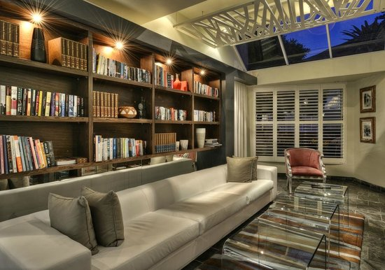 O on Kloof Boutique Hotel & Spa: Library