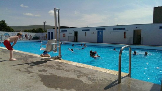 New cumnock heated pool picture of new cumnock community - An open air swimming pool crossword clue ...