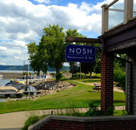 Your View From Nosh Picture Of Nosh Restaurant Amp Bar