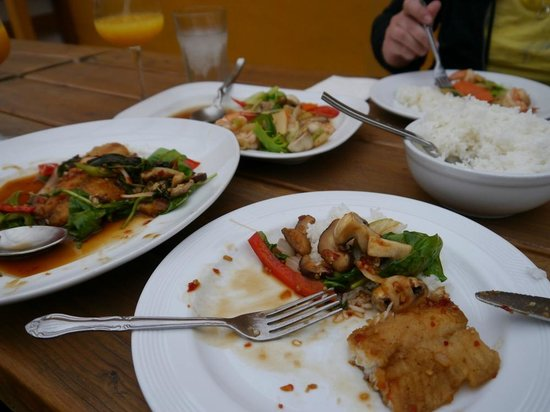 Great food great service and even parking review of for Authentic thai cuisine