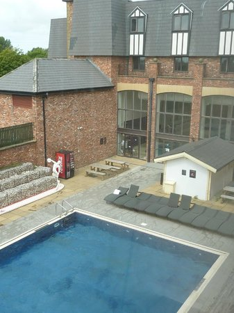 Outdoor pool - Blackpool hotels with swimming pool ...