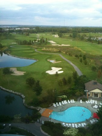 The View Of The Golf Course From Our Room Picture Of Brookstreet Hotel Ottawa Tripadvisor