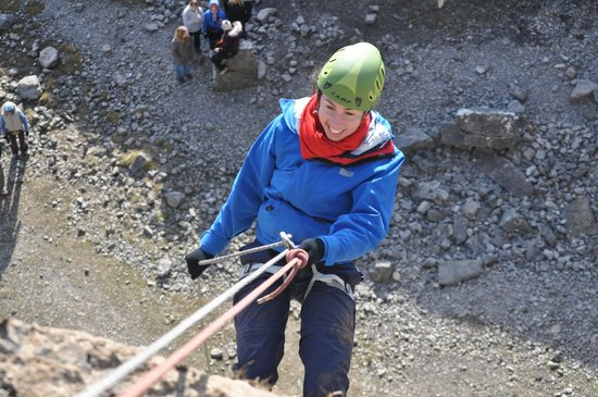 Abseiling at Trevor Quarry - Picture of Llangollen, Denbighshire