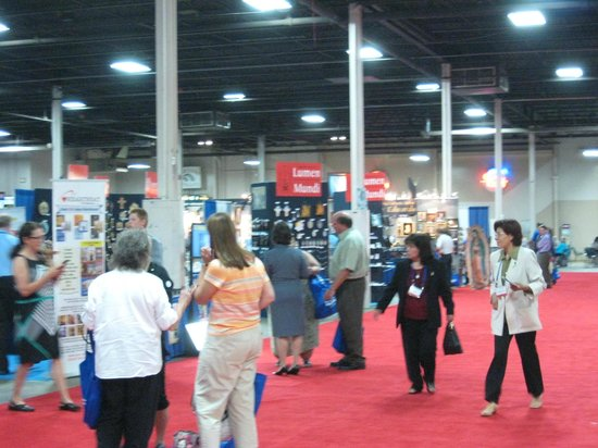 On The Floor At The Catholic Marketing Association Convention