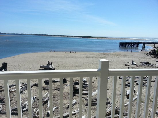 Siletz Bay Lodge: View from our room