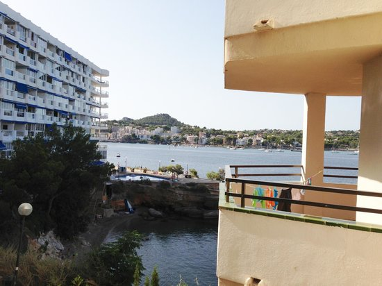 View from side seaview room picture of trh jardin del for Aparthotel jardin del mar santa ponsa