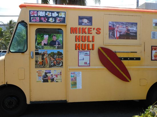 mike huli huli food truck bild von mike 39 s huli huli chicken kahalu u tripadvisor. Black Bedroom Furniture Sets. Home Design Ideas