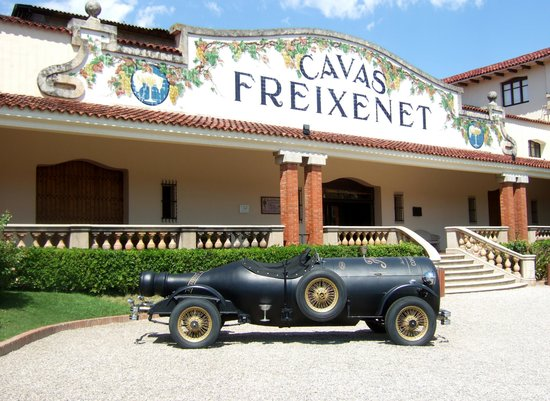 Freixenet  U0026quot Car U0026quot  And Winery