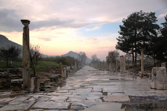 Ephesus Celsus Library - Picture of Ephesus Tours, Selcuk ...