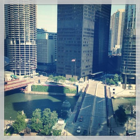River view from room 1110 picture of hotel monaco for Hotel monaco chicago