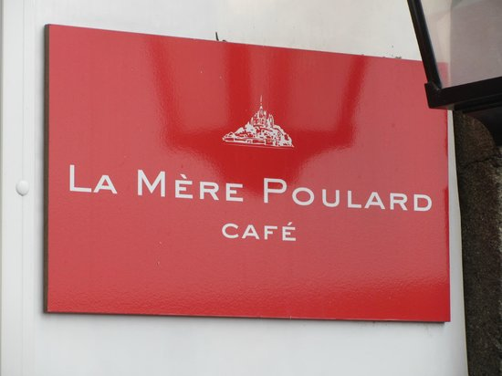 photos of la mere poulard cafe mont st michel. Black Bedroom Furniture Sets. Home Design Ideas