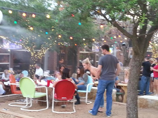 A good time was had by all. - Picture of The Katy Trail ... Katy Trail Ice House