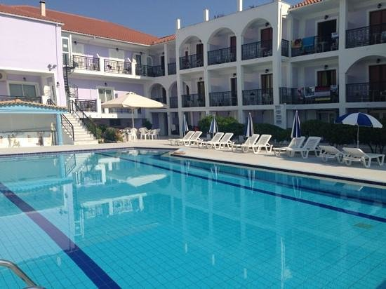 The best pool ever picture of eleana hotel argassi for The best hotel ever