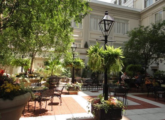 Pretty Courtyard Picture Of The Ritz Carlton New Orleans New Orleans Tripadvisor