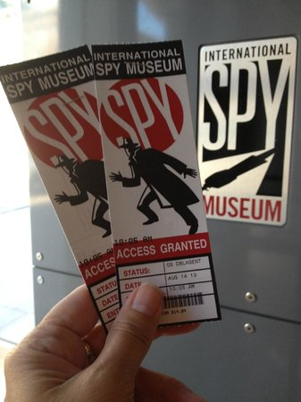 Photos of International Spy Museum, Washington DC