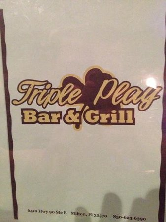 Triple play bar and grill