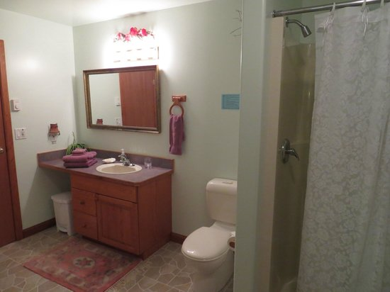 Summerhill Guest House: Rose Room Bathroom
