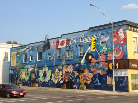 Photo of Canadian Moments Mural
