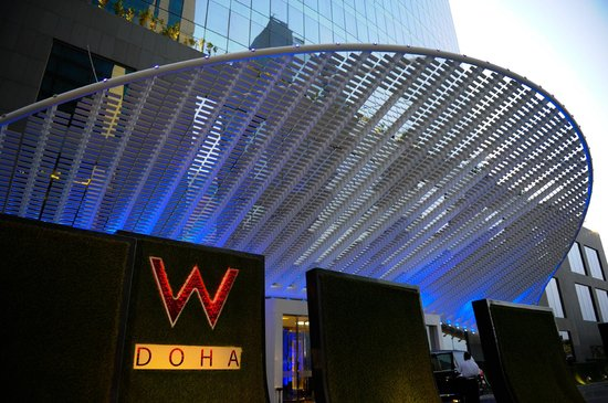 Main Entrance Picture Of W Doha Hotel Amp Residences Doha