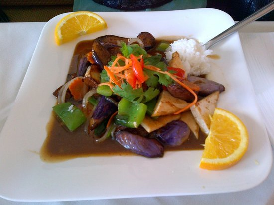 Eggplant Delight - Picture of Stratford Thai Cuisine, Stratford ...