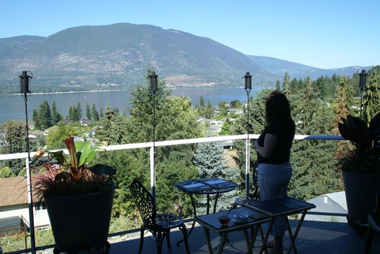 Destination Spa Bed & Breakfast: View from deck! Fabulous!!!