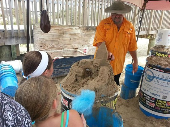 Sand castle picture of sandcastle lessons south padre island