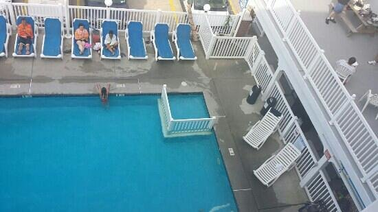 4th floor picture of athens ii motor inn north wildwood for Motor pool floor plan