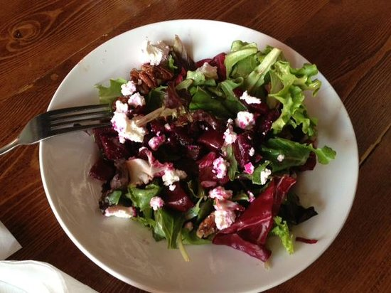 Beet and goat cheese salad picture of el furniture for L furniture warehouse whistler
