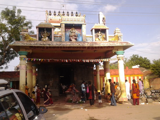 Chidambaram, India: Thillai kali Amman Temple Entrance view-Murali Photo
