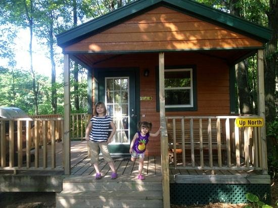 Deluxe Cabin Picture Of Covert South Haven Koa Covert