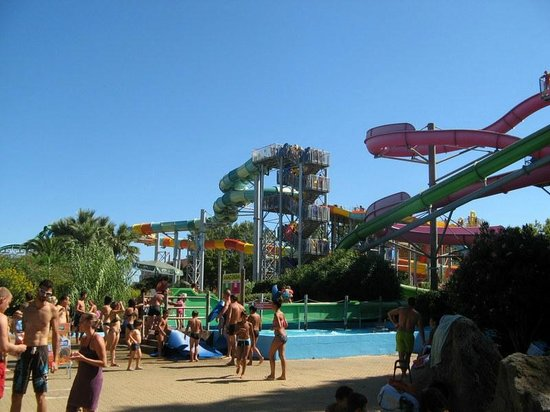 Aqualand picture of aqualand cap d 39 agde cap d 39 agde for Cap d agde jardin d eden