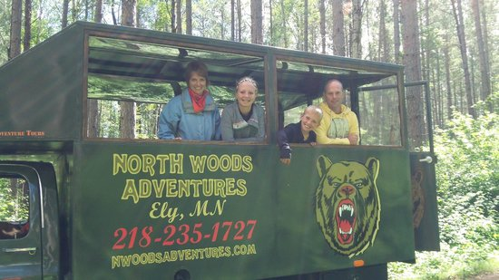 North Woods Adventures - Day Tours