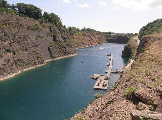 The Quarry Picture Of The National Diving And Activity Centre Chepstow Tripadvisor